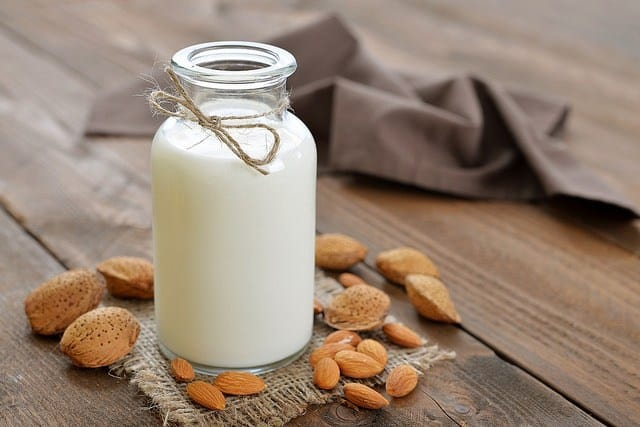 is almond milk safe for cats
